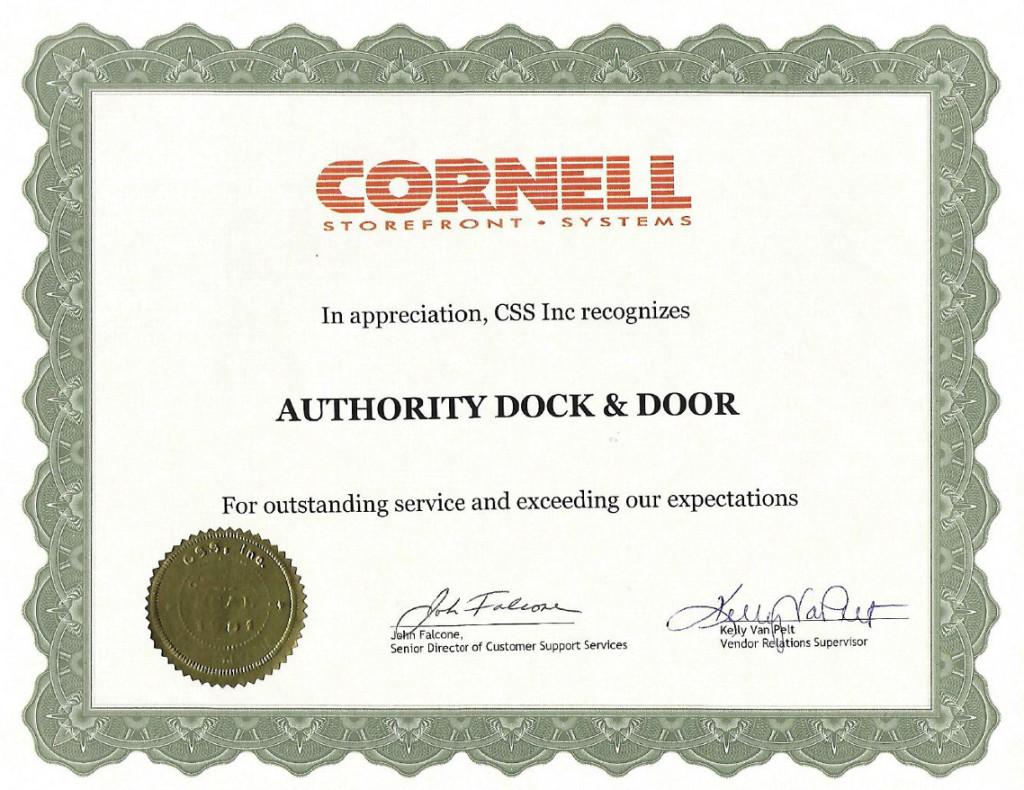 CSS Appreciation Cert