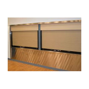 Steel & Stainless Steel Counter Shutter Door