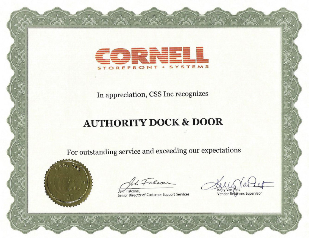 CSS Appreciation Cert