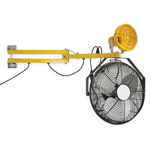 Loading Dock Light Fan