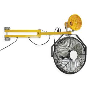 Loading Dock Light Fan