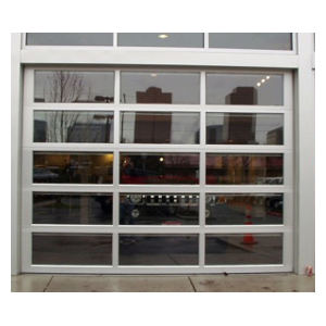 800 Series Aluminum Glass Sectional Overhead Garage Doors