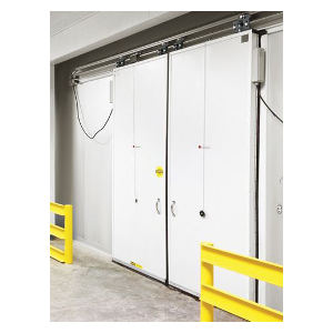 ColdGuard Bi Parting Cold Storage Door
