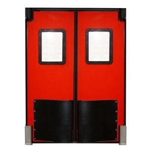 Durulite Retailer Double Impact Traffic Door