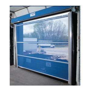 Vinyl Roll Up Overhead Doors Authority Dock Amp Door Portland