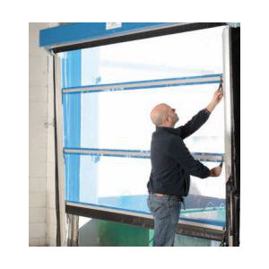 G2 Lite Spring Assist Overhead Vinyl Mesh Roll Up Doors