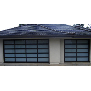 Northwest Door Modern Classic Aluminum Residential Garage Doors