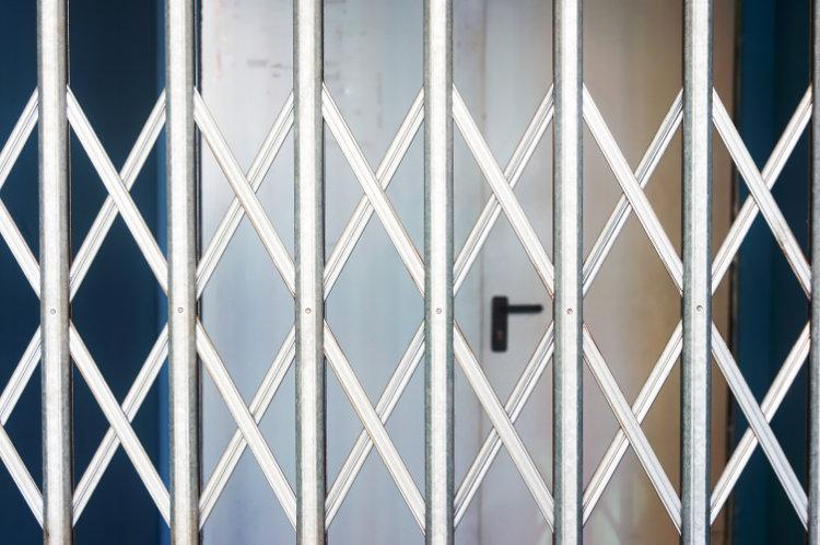 Folding Security Gate