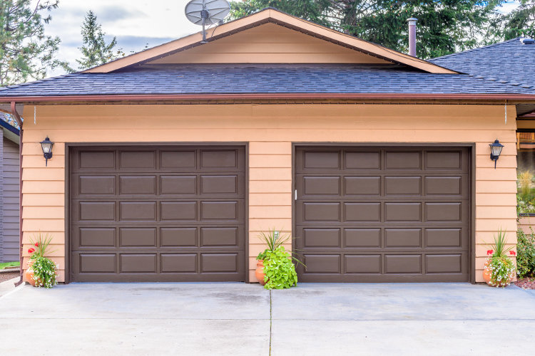 custom overhead garage doors