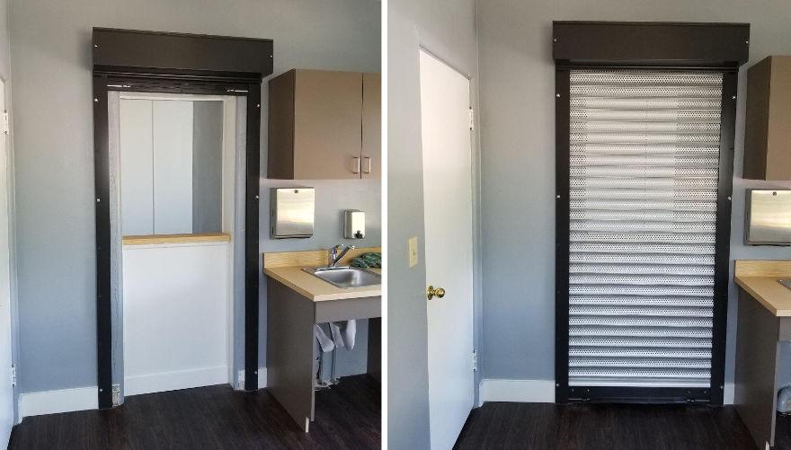 Coiling Shutter Door
