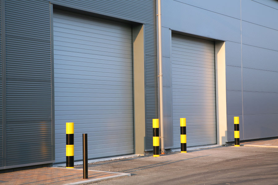 insulated commercial overhead garage doors