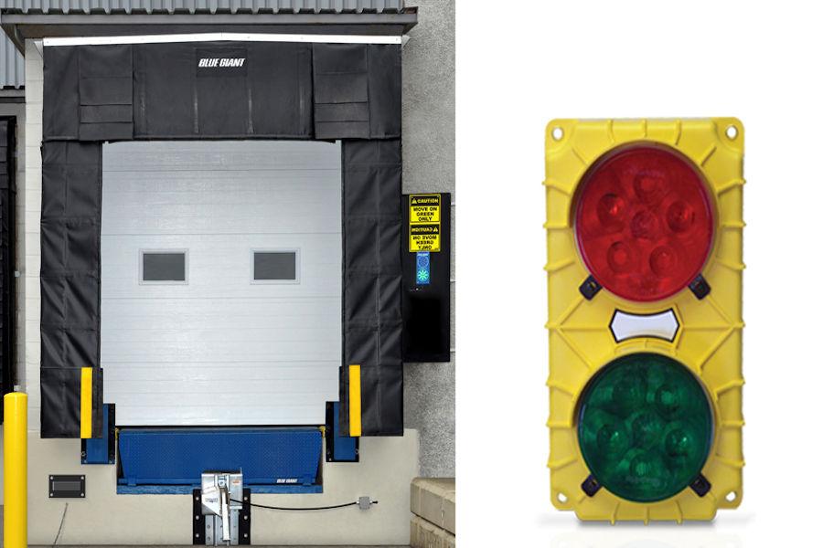 Stop & go loading dock signals