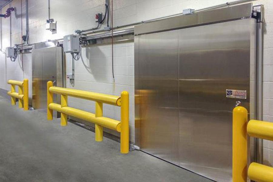 cold storage overhead doors