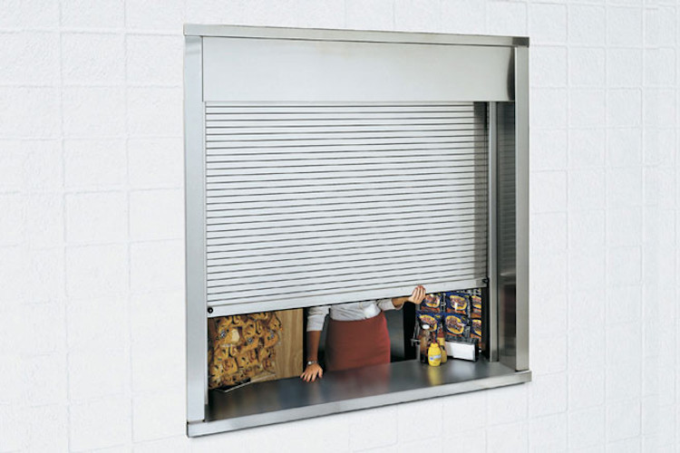 Coiling Counter Shutters