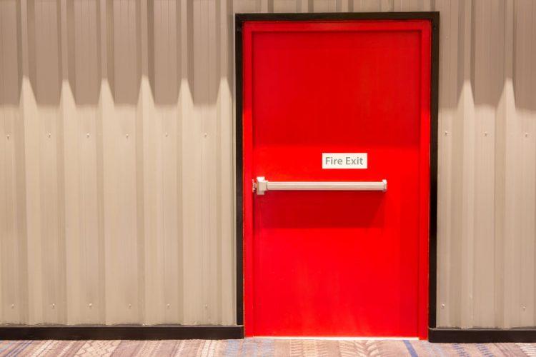 fire-rated overhead garage doors